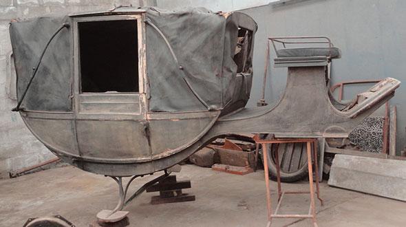 Auto Carruaje Antiguo