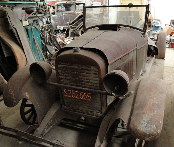 Car Essex 1924