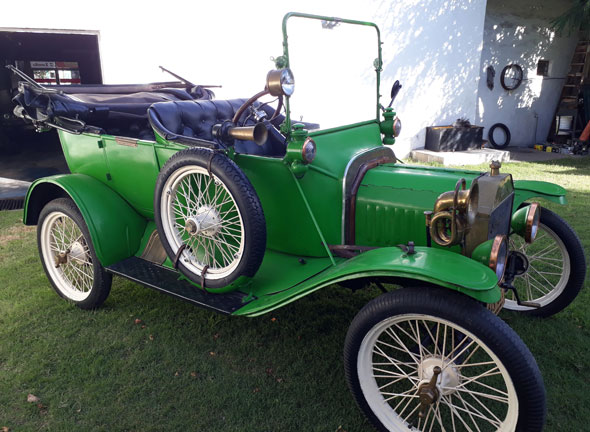 Car Ford T 1914