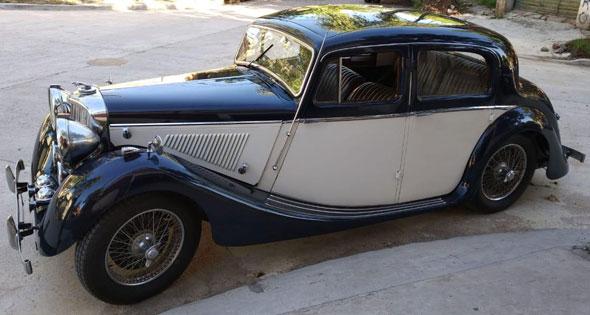 Car Jaguar MK IV