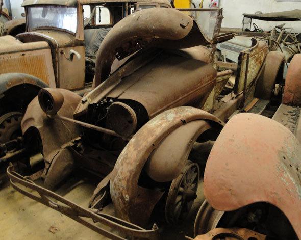Auto Chevrolet 1927
