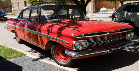 Auto Chevrolet Impala 1959