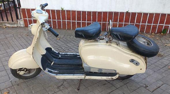 Lambretta 125 Motorcycle