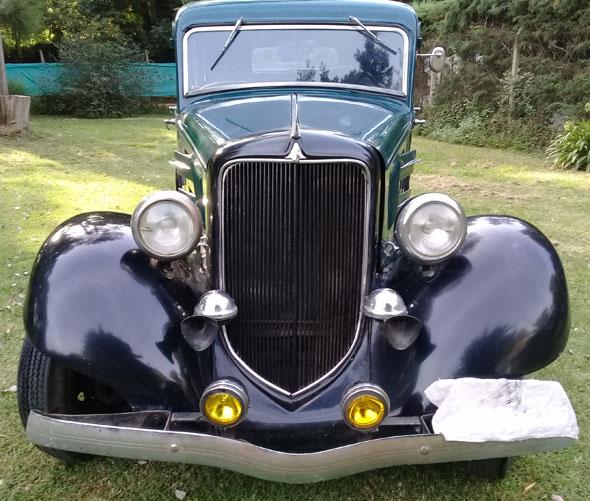 Car Plymouth 1934