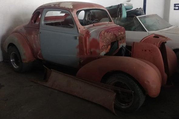 Auto Chevrolet 1937 Coupé Hot Rod