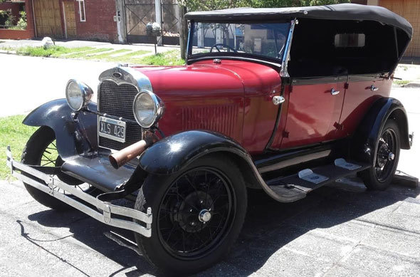Car Ford A 1929 Doble Phaeton