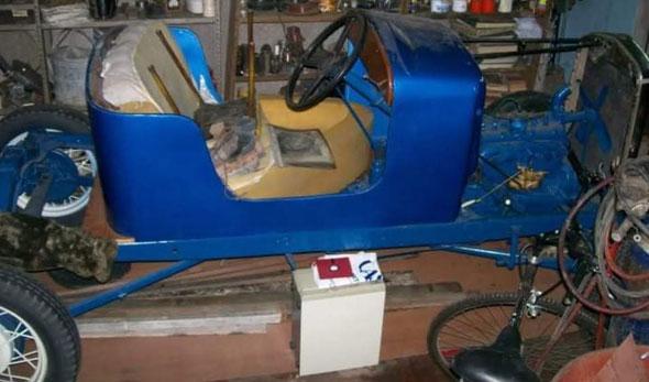 Auto Ford A 1931 Baquet