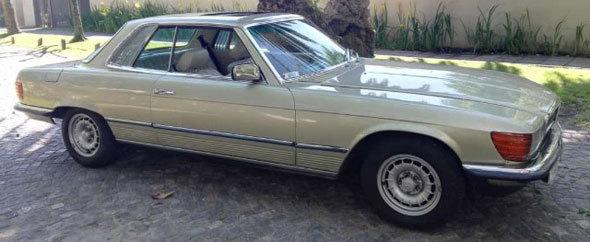 Auto Mercedes Benz 280 SLC