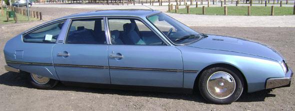 Car Citroen CX Athena 1981