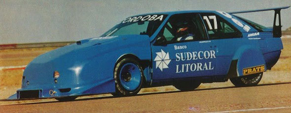 Car Renault Fuego TC2000