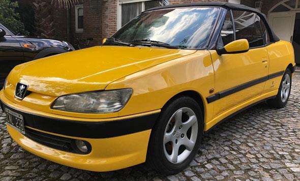 Car Peugeot 306 Cabriolet 1997