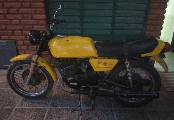 Yamaha RD 400 Motorcycle