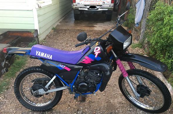 Yamaha DT 125 Motorcycle