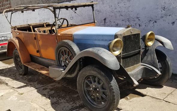 Car Fiat 520 1928