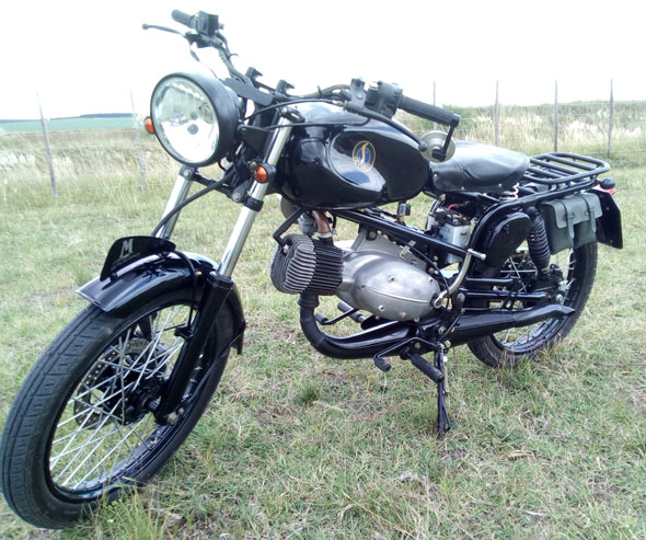 Moto Decarlo Metalmecanica 1959