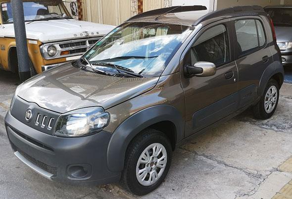 Auto Fiat Uno Evo Way