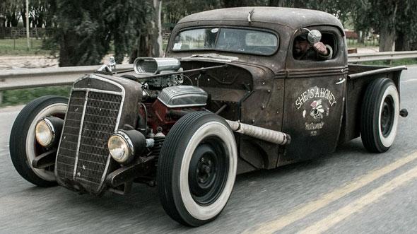 Auto Ford 1939 Rat Rod