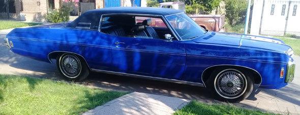 Auto Chevrolet Coupé Caprice