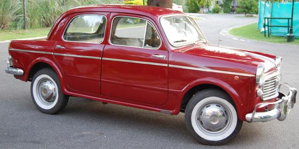 Auto Fiat 1100 1963