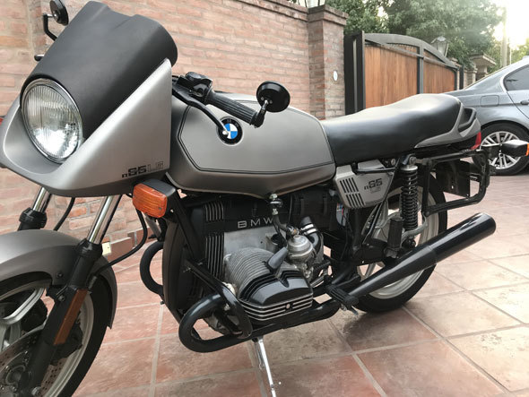 BMW R 65 LS Motorcycle