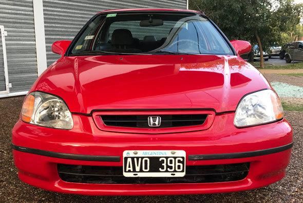Auto Honda Civic EX Coupé