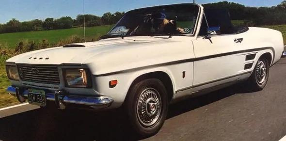 Auto Ford Capri