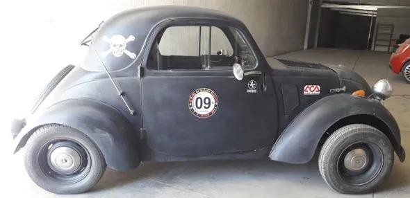 Auto Fiat 500 Topolino 1936