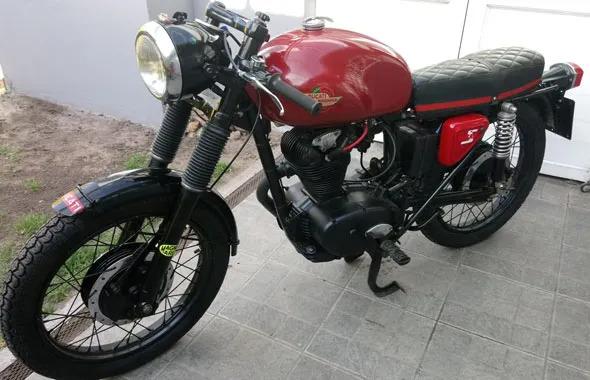 Moto Ducati TS 175
