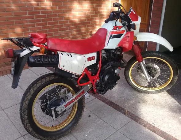 Yamaha XT 600 Motorcycle