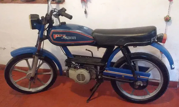 Gilera Fanti Motorcycle