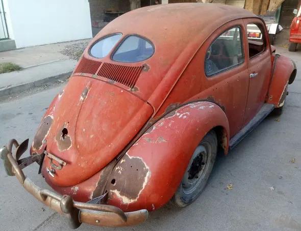Auto Volkswagen Escarabajo Bug Split