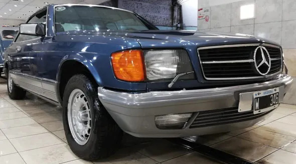 Mercedes Benz 380 SEC
