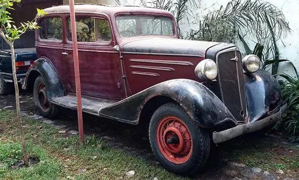 Auto Chevrolet 1934