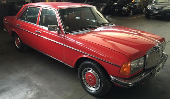 Auto Mercedes Benz 280 E 1981