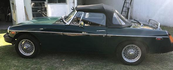 Auto MG Modelo B 1980