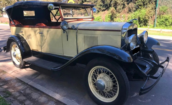 Chevrolet 1929 Doble Phaeton