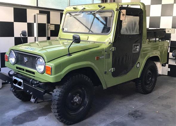 Auto Daihatsu Jeep F20l-J Tapt
