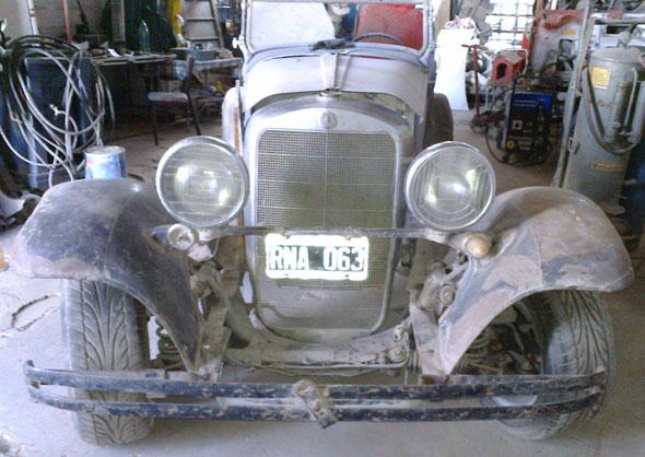 Auto Plymount 1929