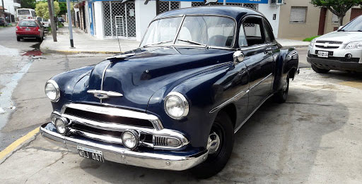 Auto Chevrolet Styleline 1951 Coupé