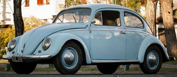 Auto Volkswagen Escarabajo 1957
