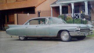 Auto Cadillac Deville 1960