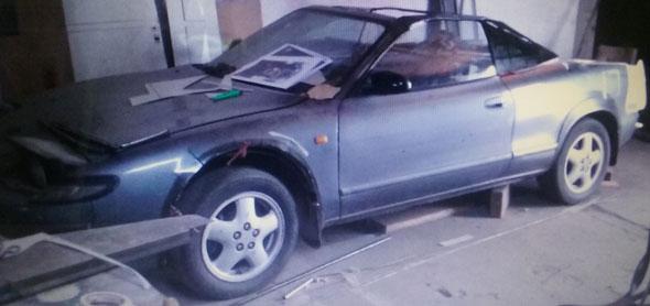 Car Toyota Célica Reformada 1992