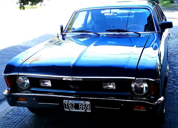Auto Chevrolet Chevy Coupé SS
