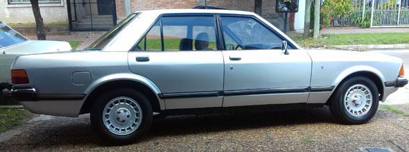 Car Ford Granada Ghia 1981