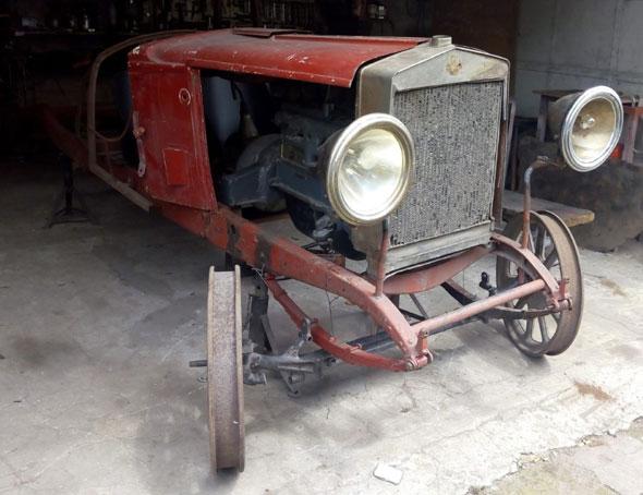 Auto Fiat Baquet