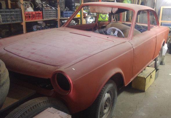 Auto Fiat 1500 Coupé 1966