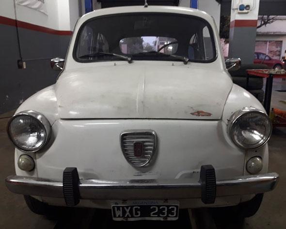Auto Fiat 1977