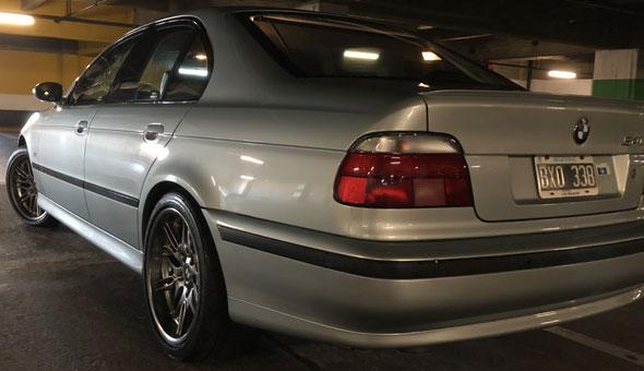 Auto BMW 540i