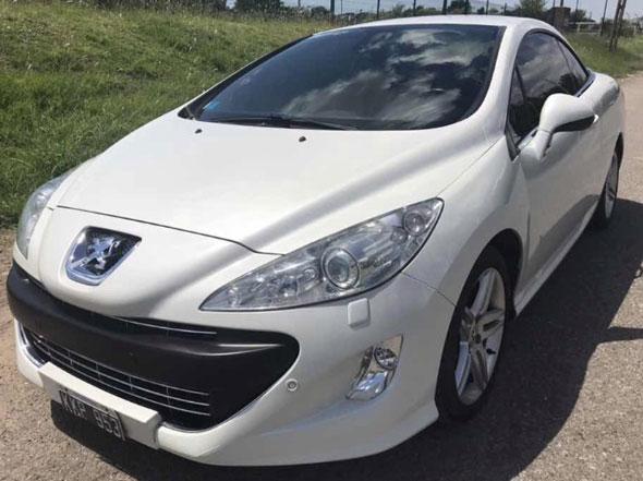 Auto Peugeot 308 CC Modelo 2011