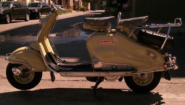 Moto Siambretta 125 1959 LD